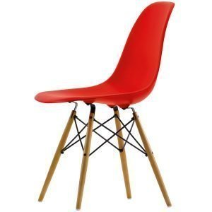 Vitra Eames Dsw Tuoli Classic Red Vaahtera