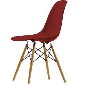 Vitra Eames Dsw Tuoli Oxide Red Vaahtera