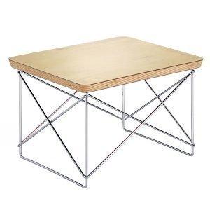 Vitra Eames Ltr Occasional Pöytä Lehtikulta Kromi