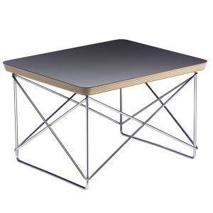 Vitra Eames Ltr Occasional Pöytä Musta Kromi