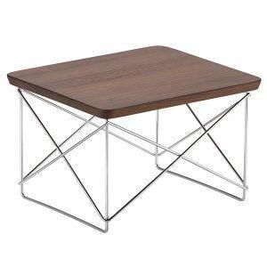 Vitra Eames Ltr Occasional Pöytä Pähkinä Kromi