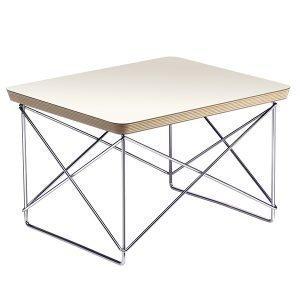 Vitra Eames Ltr Occasional Pöytä Valkoinen Kromi