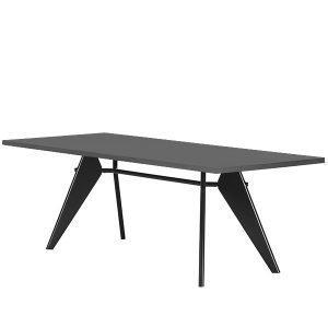 Vitra Em Table Pöytä Asphalt Musta 240x90 Cm