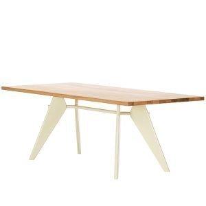 Vitra Em Table Pöytä Tammi Ecru 240x90 Cm