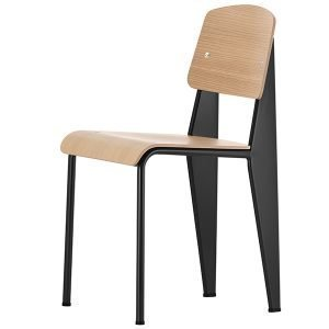 Vitra Standard Tuoli Musta Tammi