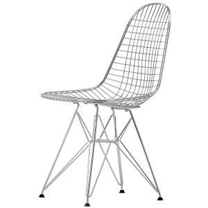 Vitra Wire Chair Dkr Tuoli Kromi