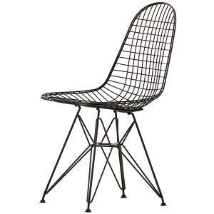 Vitra Wire Chair Dkr Tuoli Musta