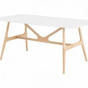 Webster Pöytä 180 Luonnonvärinen/Valkoinen