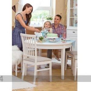 Wermo Jatkettava Ruokapöytä Family 105x165-215 Cm Valkoinen