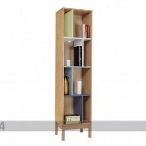 Woodman Hyllystö Abbey Wood Offset Bookcase