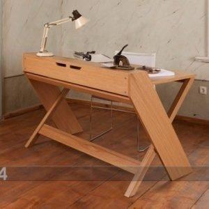 Woodman Kirjoituspöytä Ravenscroft Cross Leg Desk
