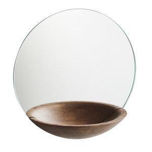 Woud Pocket Mirror Peili L Savustettu Tammi