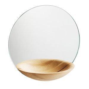 Woud Pocket Mirror Peili L Tammi