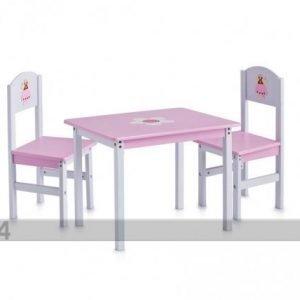 Zeller Present Lasten Pöytä Ja Tuolit Princess