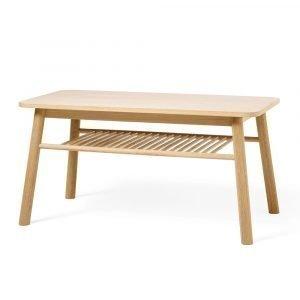 Zweed Mino Sohvapöytä + Hylly Tammi 44 Cm